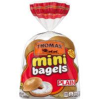 Thomas' Bagels, Plain, Mini, 10 Each