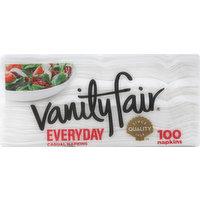Vanity Fair Napkins, Casual, Everyday, 2-Ply, 100 Each