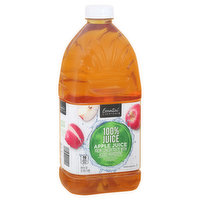 Essential Everyday 100% Juice, Apple, 64 Fluid ounce