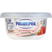 Philadelphia Cream Cheese Spread, Strawberry, 7.5 Ounce