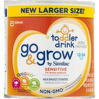 Abbott Abbott Toddler Drink Go & Grow By Similac Milk-Based Powder Sensitive 12-24 Months, 23.2 Ounce