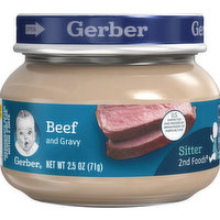 Gerber Beef & Gravy, 2.5 Ounce