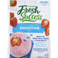 Concord Foods Smoothie, Strawberry, 2 Ounce