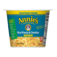 Annies Rice Pasta & Cheddar, Gluten Free, 2.01 Ounce