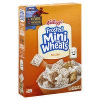 Mini-wheats Cereal, Frosted Mini Wheats, Original, 18 Ounce