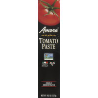 Amore Tomato Paste, Double Concentrated, 4.5 Ounce