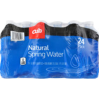 Cub Spring Water, Natural, 24 Pack, 24 Each