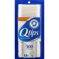 Q Tips Cotton Swabs, 300 Each