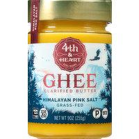 4th & Heart Ghee, Clarified Butter, Himalayan Pink Salt, 9 Ounce