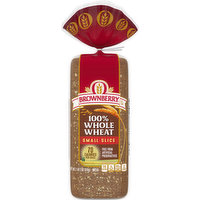 Brownberry Bread, 100% Whole Wheat, Small Slice, 18 Ounce