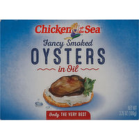 Chicken of the Sea Oysters in Oil, Fancy Smoked, 3.75 Ounce