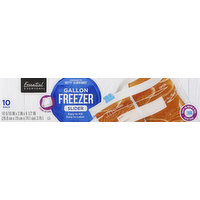 Essential Everyday Freezer Bags, Slider, Gallon, 10 Each