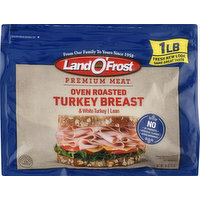 Land O Frost Turkey Breast, Oven Roasted, 16 Ounce