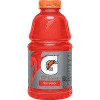 Gatorade Thirst Quencher, Fruit Punch, 32 Ounce