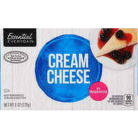 Essential Everyday Cream Cheese, 8 Ounce