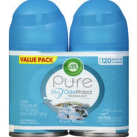 Air Wick Automatic Spray Refill, Fresh Waters, Value Pack, 2 Pack, 2 Each