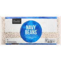 Essential Everyday Navy Beans, 32 Ounce