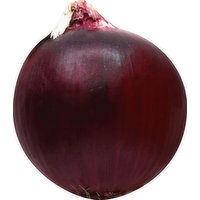 Produce Onion, Red, 0.75 Pound