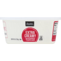 Essential Everyday Whipped Topping, Extra Creamy, 8 Ounce