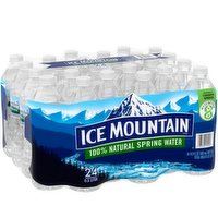 Ice Mountain Natural Sping Water, 24 Each