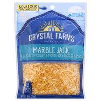 Crystal Farms Cheese, Marble Jack, 8 Ounce