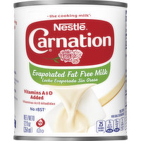 Carnation Milk, Fat Free, Evaporated, 12 Ounce