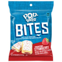 Pop Tarts Pastry Bites, Frosted, Strawberry, 2.2 Ounce