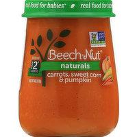 Beech Nut Carrots, Sweet Corn & Pumpkin, Stage 2 (6 Months+), 4 Ounce