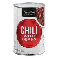 Essential Everyday Chili with Beans, 38 Ounce