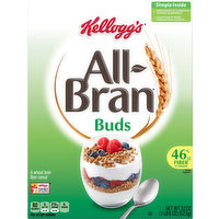 All Bran Cereal, Buds, 22 Ounce