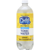 Super Chill Tonic Water, Diet, 33.8 Ounce
