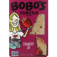 Bobo's Toaster Pastry, Strawberry Jam, 2.5 Ounce