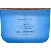 Aromascape Candle, Sea Salt Driftwood, Calm, 1 Each