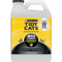Tidy Cats Clumping Litter, Multi-Cat, 4 in 1 Strength, 20 Pound