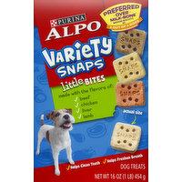 Alpo Dog Treats, Beef/Chicken/Liver/Lamb, Little Bites, 16 Ounce