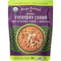 Maya Kaimal Everyday Chana, Organic, Black Chickpeas + Coconut + Green Chili, 10 Ounce