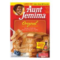 Aunt Jemima Pancake & Waffle Mix, Original, Large Size, 32 Ounce