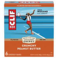 Clif Crunchy Peanut Butter Energy Bars, 14.4 Ounce