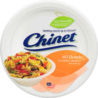 Chinet Bowls, Classic White, 16 Ounce, 60 Each