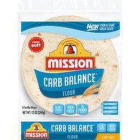 Mission Tortilla Wraps, Flour, Soft Taco, 8 Each