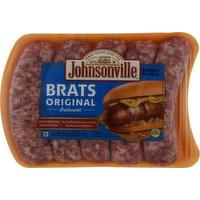 Johnsonville Bratwurst, Original, Brats, 19 Ounce