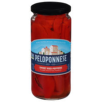 Peloponnese Sweet Red Peppers, 16.5 Ounce