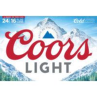 Coors Light Beer, 24 Each