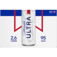 Michelob Ultra Beer, Superior Light, 24 Pack, 24 Each