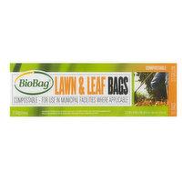 BioBag 33 Gallon Lawn & Leaf Bags, 1 Each