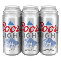Cold lagered filtered packaged. When the mountains turn blue it's as cold as the Rockies. Corn syrup is used as part of the brewing process only. Coors light never uses high fructose corn syrup. coorslight.com. Questions? 1.800.642.6116. coorslight.com. Please recycle. 4.2% alc./vol.
