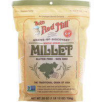 Bob's Red Mill Millet, Whole Grain, 28 Ounce