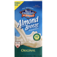 Blue Diamond Almond Milk, Original, Family Size, 64 Ounce