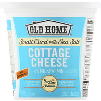 Old Home Cottage Cheese, 4% Milkfat Min, 22 Ounce