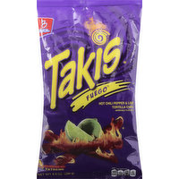 Takis Tortilla Chips, Hot Chili Pepper & Lime, Extreme, 9.9 Ounce
